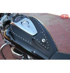Panneau moto en cuir pour Suzuki Intruder M1800R Classique