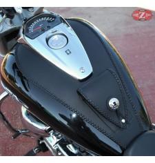 Panneau moto en cuir pour Suzuki Intruder M1800R Celtic