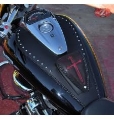 Panneau moto en cuir pour Suzuki Intruder M1800R Celtic - Classique