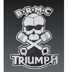 "Custom Patch B.R.M.C. Triumph Marlon Brando ""The Wild"""