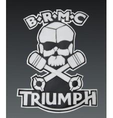 """Parche Personalizado B.R.M.C. Triumph Marlon Brando """"El Salvaje"""""""