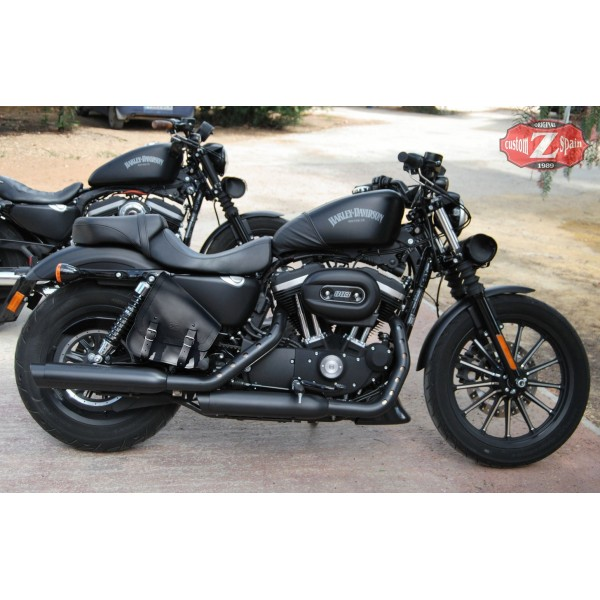 Lateral Saddlebag For Sportster Mod 883 1200 Specifies Basic GADIZ