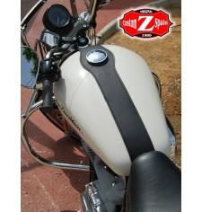 Leather tank panel for Harley Davidson Sportster - Basic -