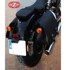 Set de Alforjas para Sportster Harley Davidson mod, SCIPION Básica - Hueco Amortiguador -