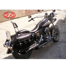Alforjas para Dyna, Harley Davidson. mod, STAR - Black Dandy