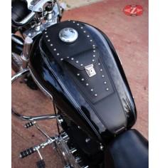 Panneau moto en cuir pour Sportster Harley Davidson mod, ARGOS Classique UNIVERSEL