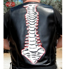 Custom leather vest mod, COLUMN