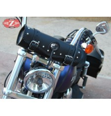 Tool bag Custom Classique Tressés 1 concho - 34 cm x 11 Ø -