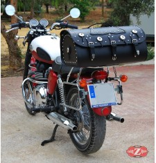 Custom Rigid Trunk for Triumph Bonneville T100/T120 mod, DOSCAS Classic Deluxe Adaptable