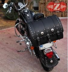 Coffre Custom pour Sportster Harley Davidson mod, KIVIR Classique Spécifique
