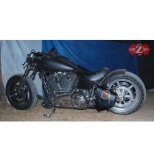 Swing Arm Saddlebag for Softail Harley Davidson mod, POLUX - Live to Ride - Specific