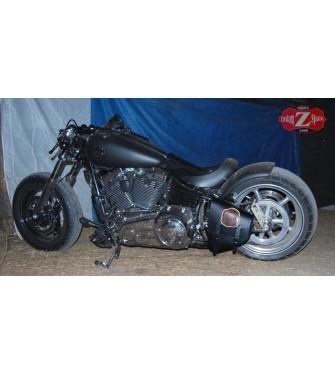 Alforja Basculante para Softail, Harley Davidson. mod, POLUX Live to Ride Izquierda.