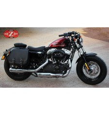 Alforja para Sportster Harley Davidson mod, SCIPION - Hueco Amortiguador - DERECHA