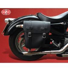 Sacoche pour Sportster Harley Davidson mod, CENTURION - Creuse Amortisseur - DROITE