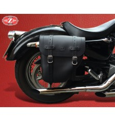 Sattelstache für Sportster Harley Davidson mod, CENTURION - Hohl Dämpfungs - RECHT
