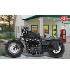 Alforja para Sportster Harley Davidson mod, CENTURION - Hueco Amortiguador - IZQUIERDA