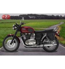 Sacoche pour Triumph Bonneville T120/T100 mod, CENTURION Adaptable - GAUCHE