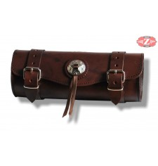 Rulo Custom Basico 1 concho marron 29 cm x 11 Ø