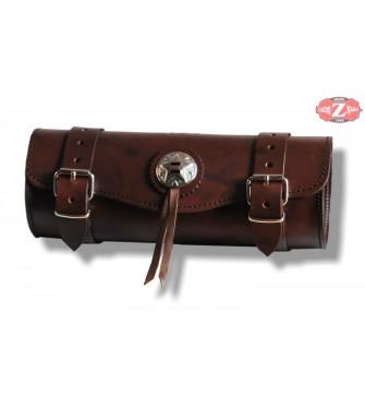 Custom Sac à outils de base 1 concho 29 cms x 11 Ø Couleur marron