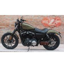 Grundlegende Werkzeugtasche für Sportster 883/1200cc Harley Davidson - Braun - Anpassungsfähig