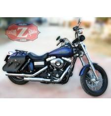 Alforjas para Dyna Street-Bob Harley Davidson mod, GORUM Básica Específica