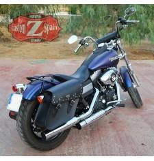 Alforjas para Dyna Street-Bob Harley Davidson mod, GORUM Clásica Específica