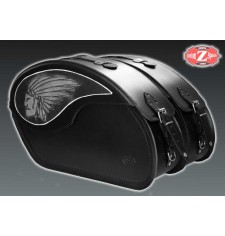 Sacoches Rigides pour Indian® Scout® Sixty mod, VENDETTA - Big boss -