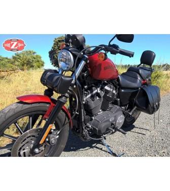 XL 883 L Sacoche de Fourche pour Harley Davidson Sportster 883 Low Kansas