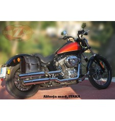 Sacoche pour Softail Black Line Harley Davidson mod, ITAKA -  Adaptable