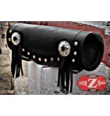 Custom Tool bag 2 Concho - LIVE TO RIDE - 29 cm x 11 Ø -