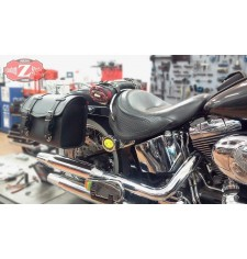 Sacoche pour Softail Deluxe Harley Davidson mod, ITAKA - Adaptable