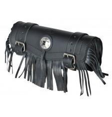 Custom Tool bag Basique - 1 concho avec franges - 29 cm x 11 Ø -