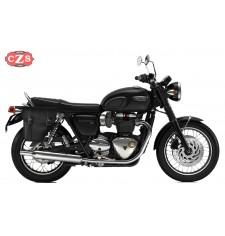 Sacoche pour Triumph Bonneville T120/T100 mod, CENTURION Adaptable - DROITE