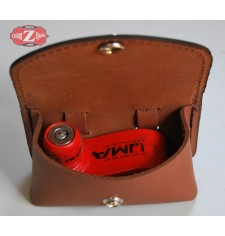 Vorhängeschloss-Tasche für Bremsscheibe - Hellbraun -