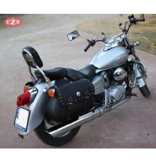 Alforjas para Honda Shadow VT 125 mod, TORELO Clásicas Adaptables