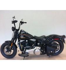 Sacoche de Bras Oscillant pour Softail Harley Davidson mod, POLUX Basique Spécifique