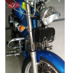 Bolsa herramientas para Honda Shadow 600 - Básica - Plano - Negro