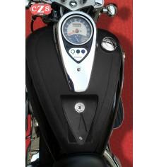 Panneau moto en cuir pour Kawasaki Vulcan 900 Basique - Specifique