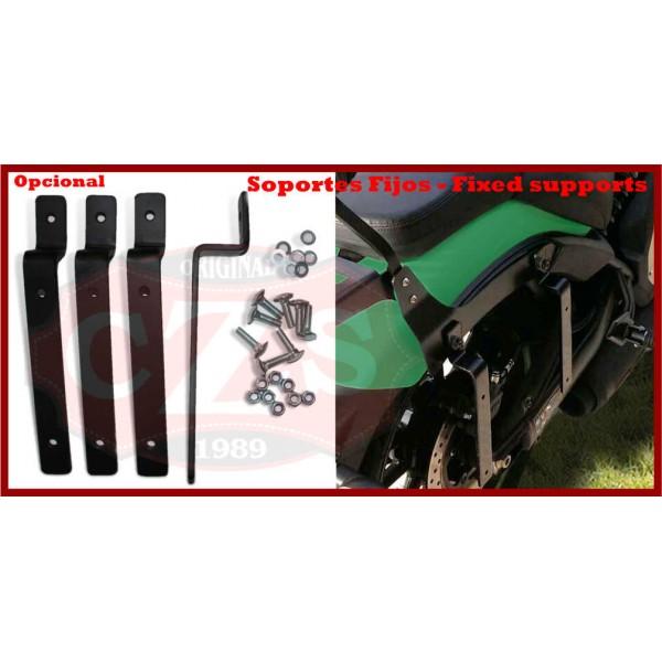 Rigid Saddlebags Suzuki Volusia 800 NAPOLEON Gothic Specific