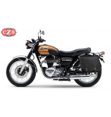 Alforja para Kawasaki W800 mod, SCIPION Básica Específica - Izquierda con hueco asa lateral.