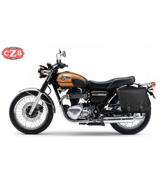 Alforja Lateral Izquierda para Kawasaki W800 mod, SCIPION Basica