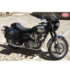 Alforja para Kawasaki W800 mod, SCIPION - Personalizada - Izquierda - Adaptable