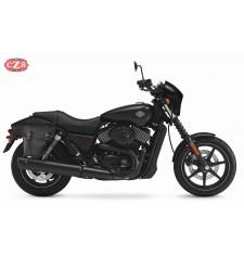 Alforja para Street 750 Harley Davidson mod, CENTURION Adaptable - DERECHA
