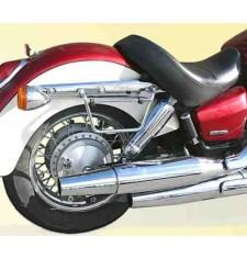 Support Sacoche pour Honda Black Spirit VT-750
