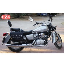 Alforjas para Honda shadow 125 mod, RIFLE Clásica Adaptables