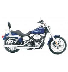 Dossier avec porte-bagages pour Harley Davidson Dyna Glide (2001-2006)
