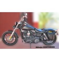 Sacoche pour Dyna Street Bob Harley Davidson mod, CENTURION Adaptable - GAUCHE