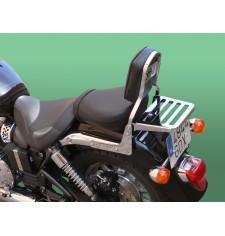 Dossier avec porte-bagages pour Triumph Speedmaster
