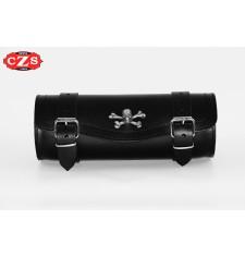 Custom Tool bag Schädel - 29 cm x 11 Ø -