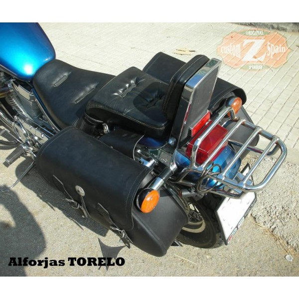 Saddlebags for Suzuki Intruder 800 mod, TORELO Basic Adaptable